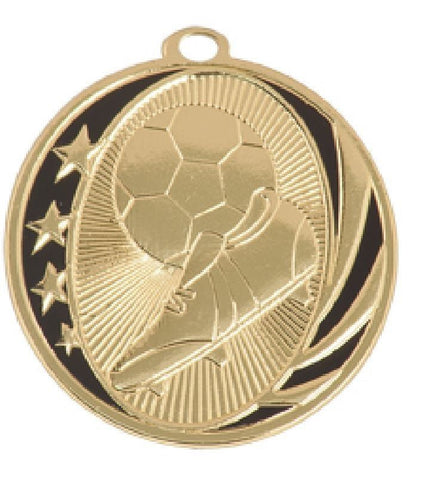 44 Piece Soccer Medals $1.69 each W/FREE Lanyard FREE SHIPPING MS707 - Winter Park Products