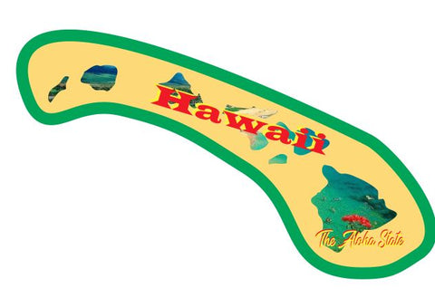 Hawaii Sticker Decal R7026