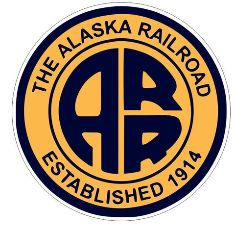 Alaska Railroad Sticker Decal R7007 Railway Train Sign