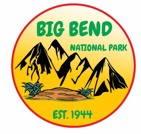 Big Bend National Park Sticker Decal R1114