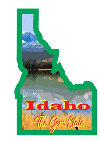 Idaho Sticker Decal R7027