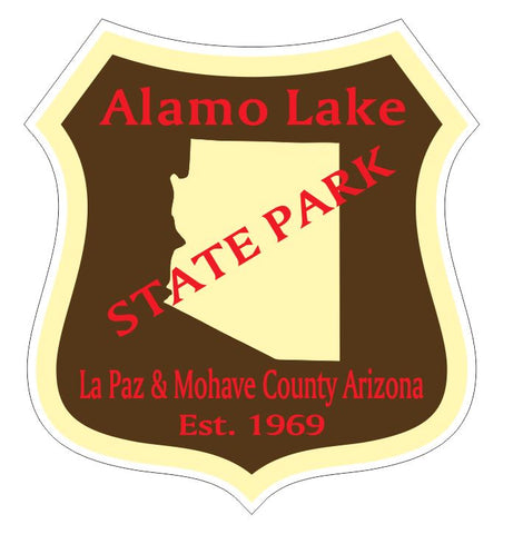 Alamo Lake State Park Sticker R4877 Arizona