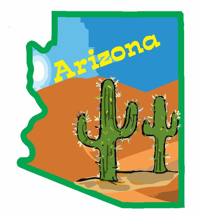 Arizona Sticker Decal R833
