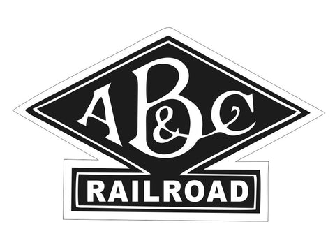 Alabama Birmingham & Coast Railroad Sticker Decal R6994 Railway Train Sign