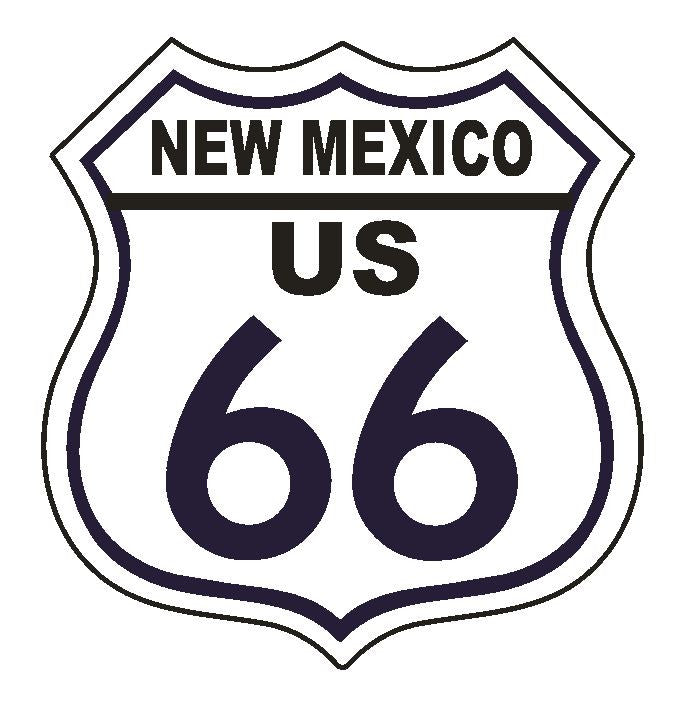 New Mexico RT 66 Route 66 Sticker MADE IN THE USA D2880 - Winter Park Products