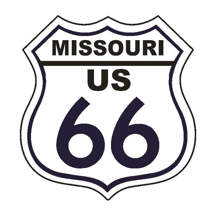 Missouri RT 66 Route 66 Sticker MADE IN THE USA D2884 - Winter Park Products