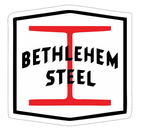 Bethlehem Steel Sticker Decal R7013 Railroad Railway Train Sign