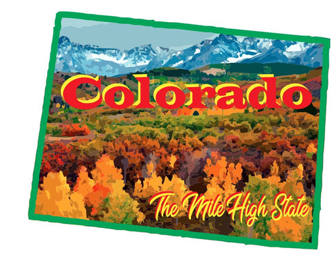 Colorado Sticker Decal R7022