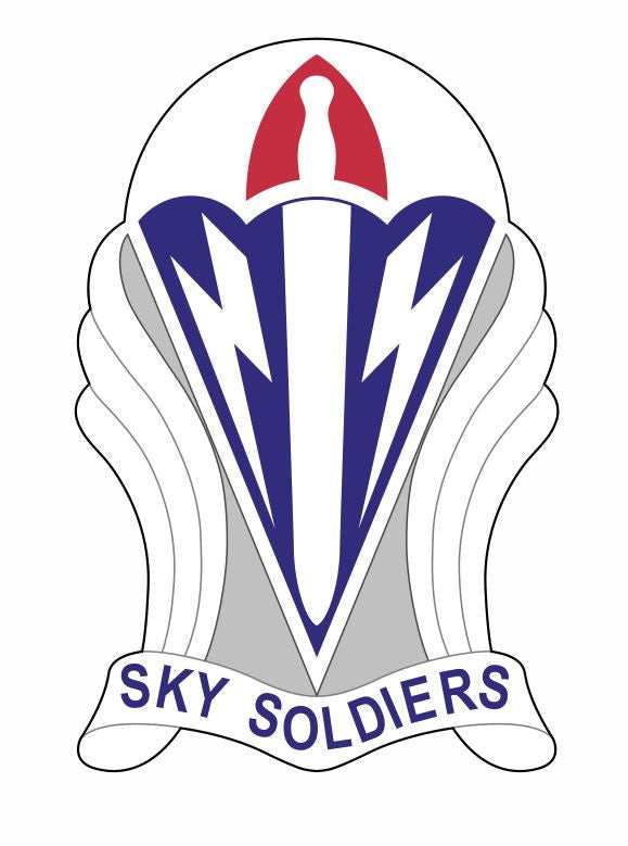 173rd Airborne Brigade Sticker M619 Sky Soldiers Military Armed Forces - Winter Park Products