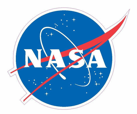 "120 pc NASA 3"" Meatball Sticker M461 - Winter Park Products"