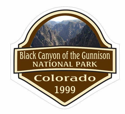 Black Canyon National Park Sticker Decal R2680 Colorado YOU CHOOSE SIZE