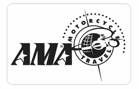 AMA American Motorcyclist Association Sticker Decal R366 - Winter Park Products