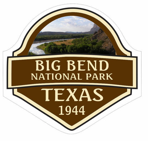 Big Bend National Park Sticker Decal R838 Texas - Winter Park Products