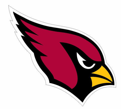 Arizona Cardinals Sticker Decal S5 - Winter Park Products