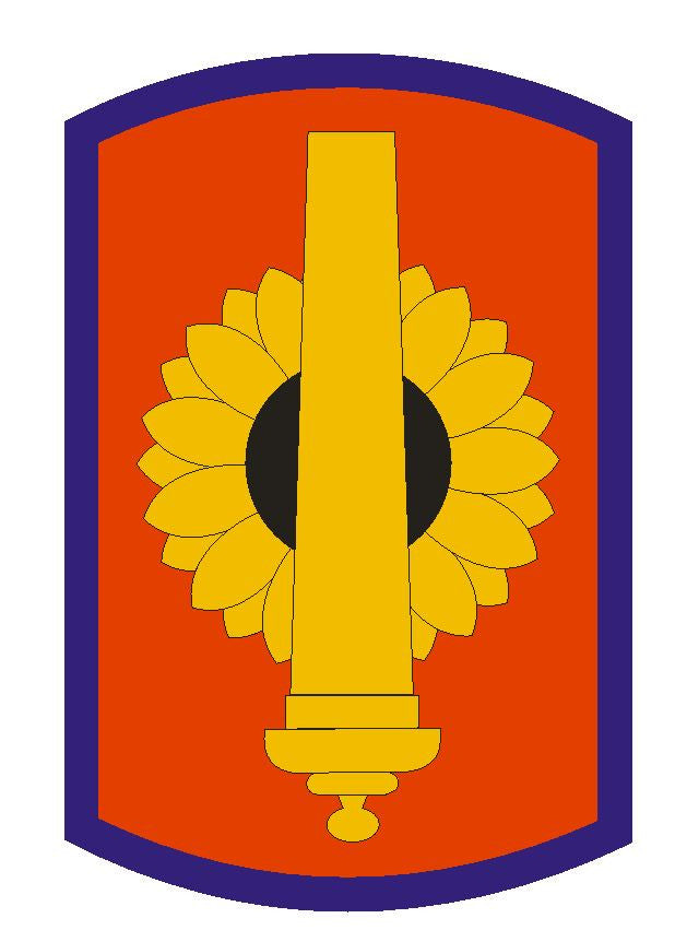 130th Field Artillery Brigade Sticker Military Armed Forces Sticker Decal M100 - Winter Park Products