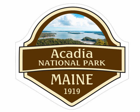 Acadia National Park Sticker Decal R835 - Winter Park Products