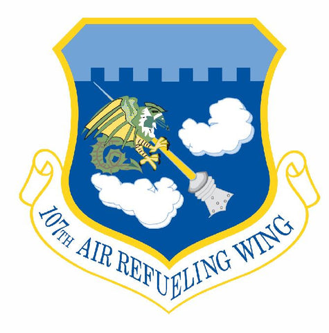 107th Air Refueling Wing Sticker Military Decal M431 - Winter Park Products