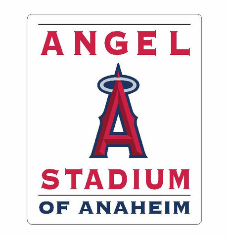 Angel Stadium Sticker Decal S49 - Winter Park Products