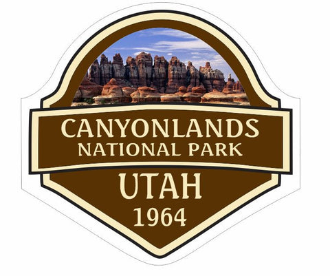 Canyonlands National Park Sticker Decal R841 Utah - Winter Park Products