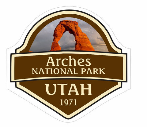 Arches National Park Sticker Decal R836 - Winter Park Products