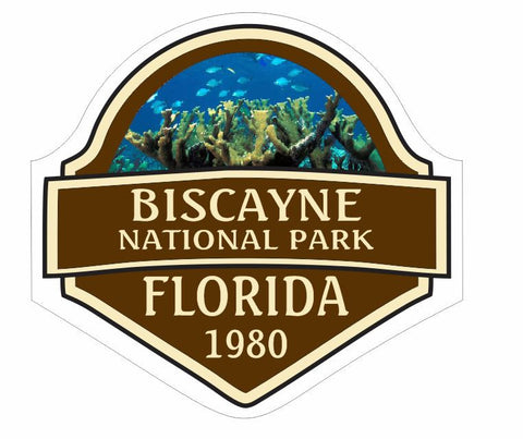 Biscayne National Park Sticker Decal R839 Florida - Winter Park Products