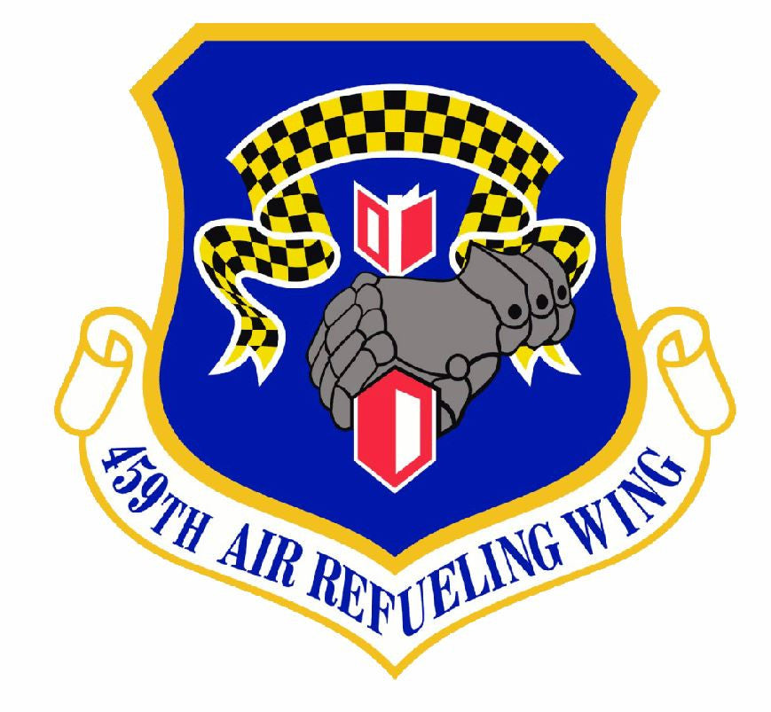 459th Air Refueling Wing Sticker Military Decal M423 - Winter Park Products