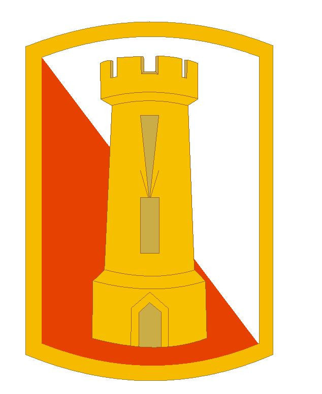 168th Engineer Brigade Sticker Military Armed Forces Sticker Decal M108 - Winter Park Products