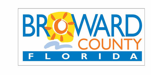 Broward County Florida Sticker Decal R823 - Winter Park Products