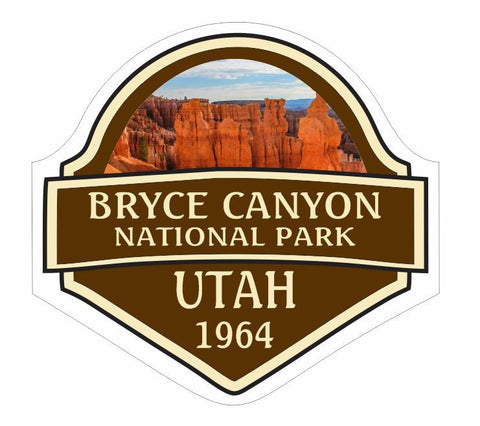 Bryce Canyon National Park Sticker Decal R840 Utah - Winter Park Products