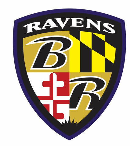 Baltimore Ravens Sticker Decal S7 - Winter Park Products