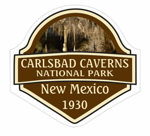 Carlsbad Caverns National Park Sticker Decal R843 New Mexico - Winter Park Products