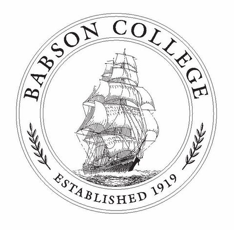 Babson College Sticker / Decal R763 - Winter Park Products