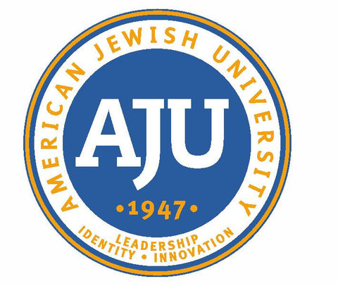 AJU American Jewish University Sticker / Decal R796 - Winter Park Products