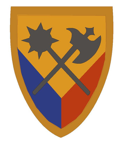 16th Engineer Brigade Sticker Military Armed Forces Sticker Decal M58