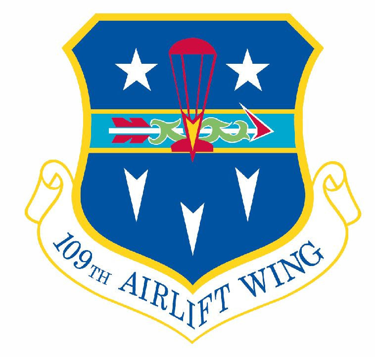 109th Airlift Wing Sticker Military Decal M433 - Winter Park Products