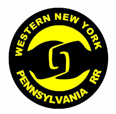 Western New York Pennsylvania Railroad TRAIN Sticker / Decal R709 - Winter Park Products
