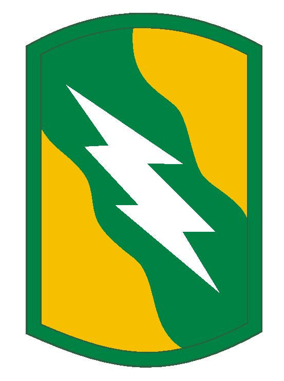 155th Armored Brigade Sticker Military Armed Forces Sticker Decal M116 - Winter Park Products