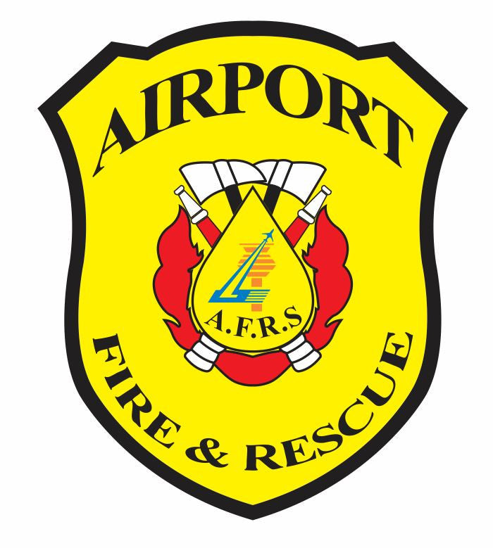 Airport Fire Dept Sticker Decal R857 - Winter Park Products