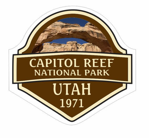 Capitol Reef National Park Sticker Decal R842 Utah - Winter Park Products