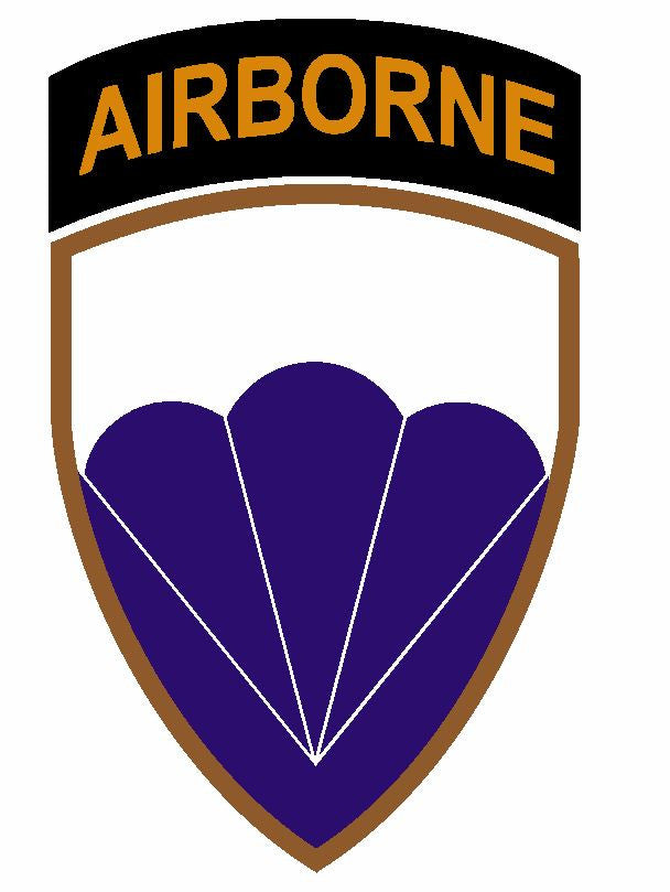 6th Airborne Division Sticker Military Decal M400 - Winter Park Products