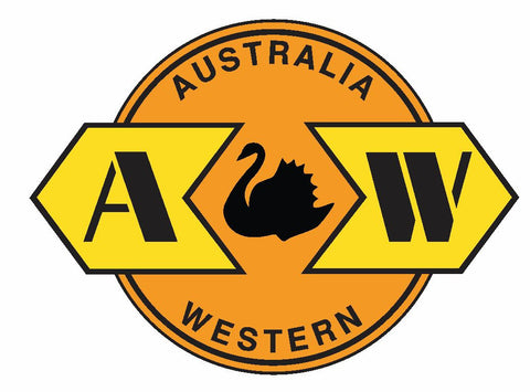 Australia Western Railway Railroad TRAIN Sticker / Decal R719 - Winter Park Products