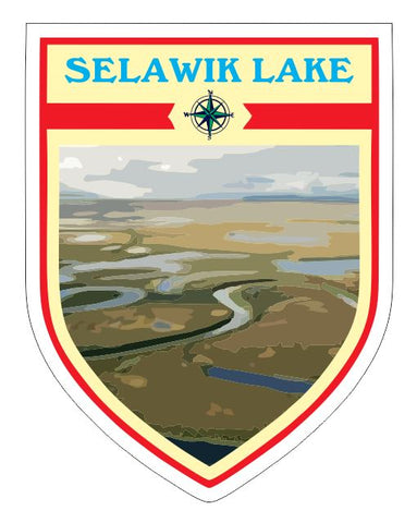 Selawik Lake Sticker Decal R7056