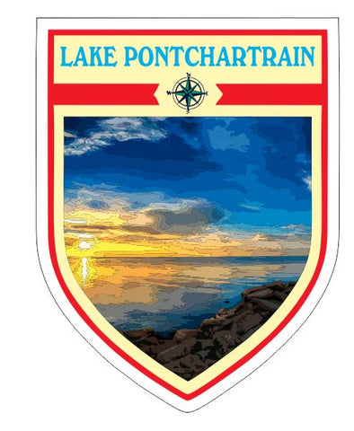 Lake Pontchartrain Sticker Decal R7050