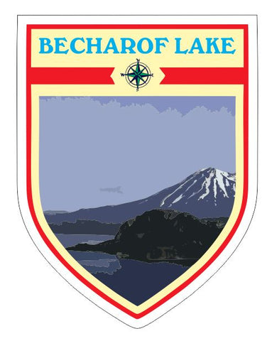 Becharof Lake Sticker Decal R7053