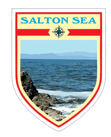 Salton Sea Sticker Decal R7088