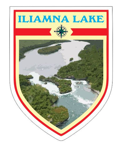 Iliamna Lake Sticker Decal R7048