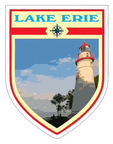 Lake Erie Sticker Decal R7043