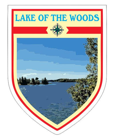 Lake of the Woods Sticker Decal R7046