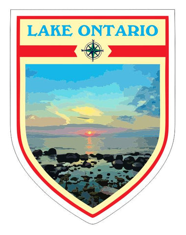 Lake Ontario Sticker Decal R7044