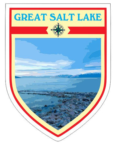 Great Salt Lake Sticker Decal R7045